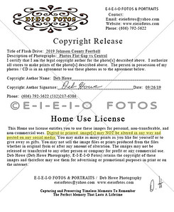 2019 Flat Gap vs Central Copyright Release Home Use License