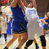2-1-19<br /> Maconaquah vs Frankfort GBB<br /> Mac's Alex Merritt goes after a rebound.<br /> Kelly Lafferty Gerber | Kokomo Tribune