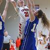 2-2-19<br /> Taylor vs Tipton girls sectional basketball<br /> <br /> Kelly Lafferty Gerber | Kokomo Tribune