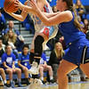 2-1-19<br /> Maconaquah vs Frankfort GBB<br /> Mac's McKenna Wilson grabs a rebound.<br /> Kelly Lafferty Gerber | Kokomo Tribune