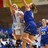 2-1-19<br /> Maconaquah vs Frankfort GBB<br /> Mac's Lilly Maple shoots.<br /> Kelly Lafferty Gerber | Kokomo Tribune