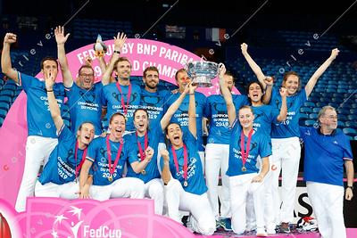 Fed Cup final 2019 Australia vs France