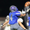 Quentin Hayes pulls down a pass from Ryan High