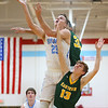 1-3-19<br /> Maconaquah vs Eastern boys basketball<br /> Mac's Cole Borden shoots.<br /> Kelly Lafferty Gerber | Kokomo Tribune