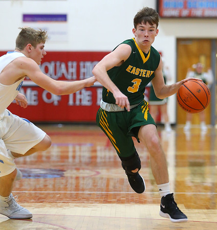 1-3-19<br /> Maconaquah vs Eastern boys basketball<br /> <br /> Kelly Lafferty Gerber | Kokomo Tribune
