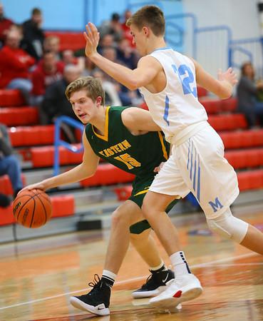 1-3-19<br /> Maconaquah vs Eastern boys basketball<br /> <br /> Kelly Lafferty Gerber   Kokomo Tribune