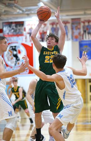 1-3-19<br /> Maconaquah vs Eastern boys basketball<br /> <br /> Kelly Lafferty Gerber | Kokomo Tribune
