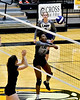 Mount Vernon Varsity Lady Tigers vs Redwater Lady Dragons Bi-District Volleyball  game photos