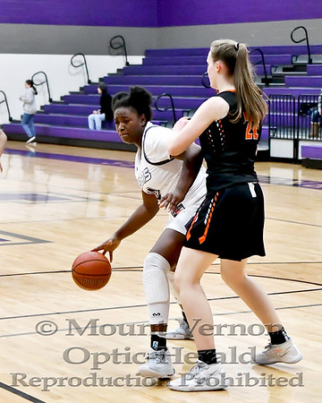 Mount Vernon Varsity Lady Tigers vs Commerce Lady Tigers Basketball game