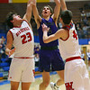 Sectional action between Northwestern HS and West Lafayette HS on March 1, 2019.<br /> Tim Bath | Kokomo Tribune