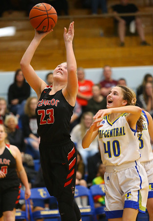 11-22-19<br /> Tri Central vs Taylor girls basketball<br /> <br /> Kelly Lafferty Gerber | Kokomo Tribune