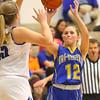 11-14-19<br /> Tipton vs Tri Central girls basketball<br /> Tri Central's Kenadie Fernung puts up a shot.<br /> Kelly Lafferty Gerber   Kokomo Tribune