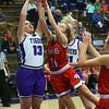 Northwestern girls defeated Twin Lakes 80-28 on Saturday Nov. 9, 2019.<br /> Tim Bath | Kokomo Tribune