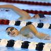 11-21-19<br /> Western vs Kokomo girls swimming<br /> Western's Anna Moore in the 200 yard freestyle.<br /> Kelly Lafferty Gerber | Kokomo Tribune
