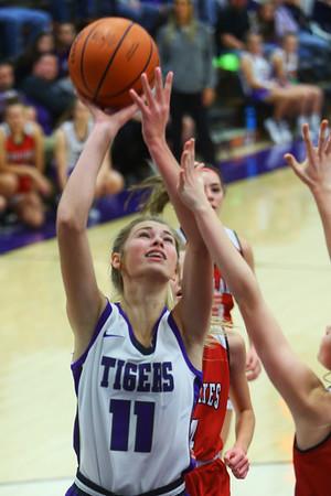 Northwestern girls defeated Twin Lakes 80-28 on Saturday Nov. 9, 2019.<br /> Tim Bath   Kokomo Tribune