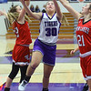 Northwestern girls defeated Twin Lakes 80-28 on Saturday Nov. 9, 2019.<br /> Tim Bath | Kokomo Tribune