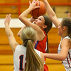 11-20-19<br /> Cass vs Kokomo girls basketball<br /> Kokomo's Chloe McClain shoots.<br /> Kelly Lafferty Gerber | Kokomo Tribune
