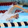 11-21-19<br /> Western vs Kokomo girls swimming<br /> Western's Lauren LaFever in the 50 yard freestyle.<br /> Kelly Lafferty Gerber | Kokomo Tribune