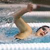 11-19-19<br /> Eastern girls swimming<br /> Brittney Eckart in the 50 yard freestyle.<br /> Kelly Lafferty Gerber | Kokomo Tribune