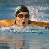 11-19-19<br /> Eastern girls swimming<br /> Cora Kendall in the 200 yard IM.<br /> Kelly Lafferty Gerber   Kokomo Tribune