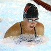 11-21-19<br /> Western vs Kokomo girls swimming<br /> Western's Emma Shoemaker doing the breaststroke in the 200 yard medley realy.<br /> Kelly Lafferty Gerber | Kokomo Tribune