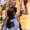 11-13-19<br /> Taylor vs Kokomo girls basketball<br /> Taylor's Kelsi Langley puts up a shot.<br /> Kelly Lafferty Gerber | Kokomo Tribune