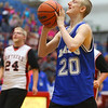 Kokomo vs Western Unified basketball on Tuesday, November 26, 2019.<br /> Kelly Lafferty Gerber | Kokomo Tribune