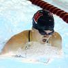 11-21-19<br /> Western vs Kokomo girls swimming<br /> Western's Jenaka Hawkins in the 200 yard IM.<br /> Kelly Lafferty Gerber | Kokomo Tribune
