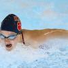 11-21-19<br /> Western vs Kokomo girls swimming<br /> Kokomo's Emily Lucas in the 200 yard IM.<br /> Kelly Lafferty Gerber | Kokomo Tribune