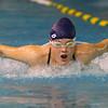 11-19-19<br /> Eastern girls swimming<br /> Carolina Trankman doing the butterfly in the 200 yard medley relay.<br /> Kelly Lafferty Gerber   Kokomo Tribune