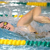 11-19-19<br /> Eastern girls swimming<br /> Ella Flanary doing the freestyle in the 200 yard medley relay.<br /> Kelly Lafferty Gerber   Kokomo Tribune