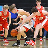 11-27-19<br /> Taylor vs Frankton boys basketball<br /> <br /> Kelly Lafferty Gerber | Kokomo Tribune