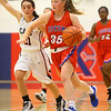 11-20-19<br /> Cass vs Kokomo girls basketball<br /> Brook Reaves takes the ball down the court.<br /> Kelly Lafferty Gerber | Kokomo Tribune