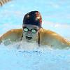 11-21-19<br /> Western vs Kokomo girls swimming<br /> Kokomo's Rilyn Wonnell doing the butterfly in the 200 yard medley relay.<br /> Kelly Lafferty Gerber | Kokomo Tribune