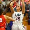 11-20-19<br /> Cass vs Kokomo girls basketball<br /> Cass' Paxtyn Hicks puts up a shot.<br /> Kelly Lafferty Gerber | Kokomo Tribune