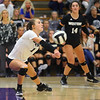 10-1-19<br /> Northwestern vs Western volleyball<br /> <br /> Kelly Lafferty Gerber | Kokomo Tribune