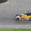 Don Knight | The Herald Bulletin<br /> Kody Swanson leads the Payless Little 500 on Saturday.