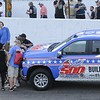Don Knight | The Herald Bulletin<br /> Pace car selfie before the start of the Payless Little 500 on Saturday.