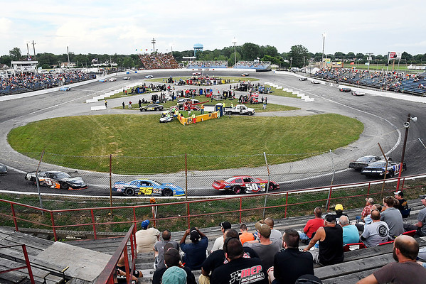 John P. Cleary | The Herald Bulletin<br /> 53rd annual Redbud 400 at Anderson Speedway.