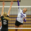 9-3-19<br /> Northwestern vs Clinton Central volleyball<br /> NW's Madison Layden goes for the kill.<br /> Kelly Lafferty Gerber | Kokomo Tribune