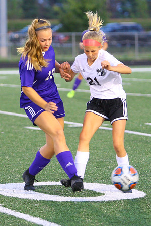 Western HS girls defeat Northwestern HS 3-0 on Sept. 19, 2019.<br /> Tim Bath | Kokomo Tribune