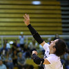 Volleyball between Western HS and Cass HS on Sept. 24, 2019. <br /> Tim Bath | Kokomo Tribune