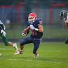 Gabe Eurit running for another Cass touchdown as Lewis Cass High School football defeated Benton Central 68-0 on Sept. 6, 2019.<br /> Tim Bath | Kokomo Tribune