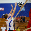 Kokomo High School volleyball team defeats North Miami High School on Sept. 18, 2019.<br /> Tim Bath | Kokomo Tribune