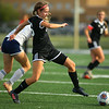 9-28-19<br /> Western vs Central Catholic girls soccer Hoosier Conference Tournament<br /> Western's Andrea Reeder goes after the ball.<br /> Kelly Lafferty Gerber   Kokomo Tribune