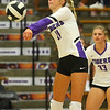 9-3-19<br /> Northwestern vs Clinton Central volleyball<br /> NW's McKenna Layden digs the ball.<br /> Kelly Lafferty Gerber | Kokomo Tribune