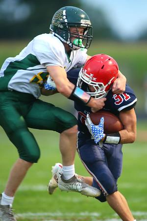 Lewis Cass High School football defeated Benton Central 68-0 on Sept. 6, 2019.<br /> Tim Bath | Kokomo Tribune