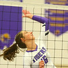 9-3-19<br /> Northwestern vs Clinton Central volleyball<br /> NW's Lexi Robinson goes for a kill.<br /> Kelly Lafferty Gerber | Kokomo Tribune