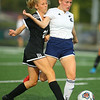 9-28-19<br /> Western vs Central Catholic girls soccer Hoosier Conference Tournament<br /> Western's Lucy Weigt and Central Catholic's Aubrey Weeks battle over ball control.<br /> Kelly Lafferty Gerber   Kokomo Tribune