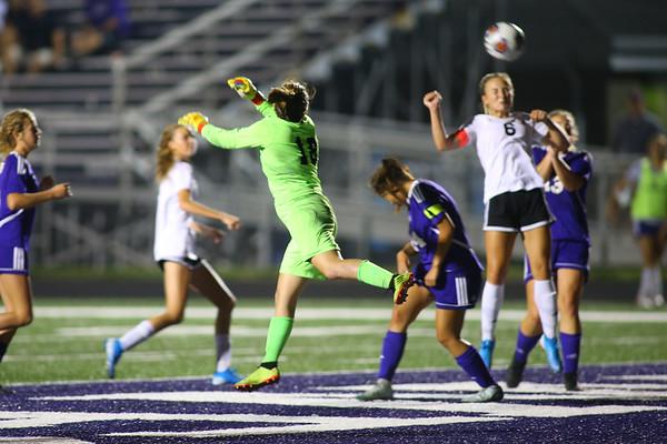 Western HS girls defeat Northwestern HS 3-0 on Sept. 19, 2019.<br /> Tim Bath | Kokomo Tribune